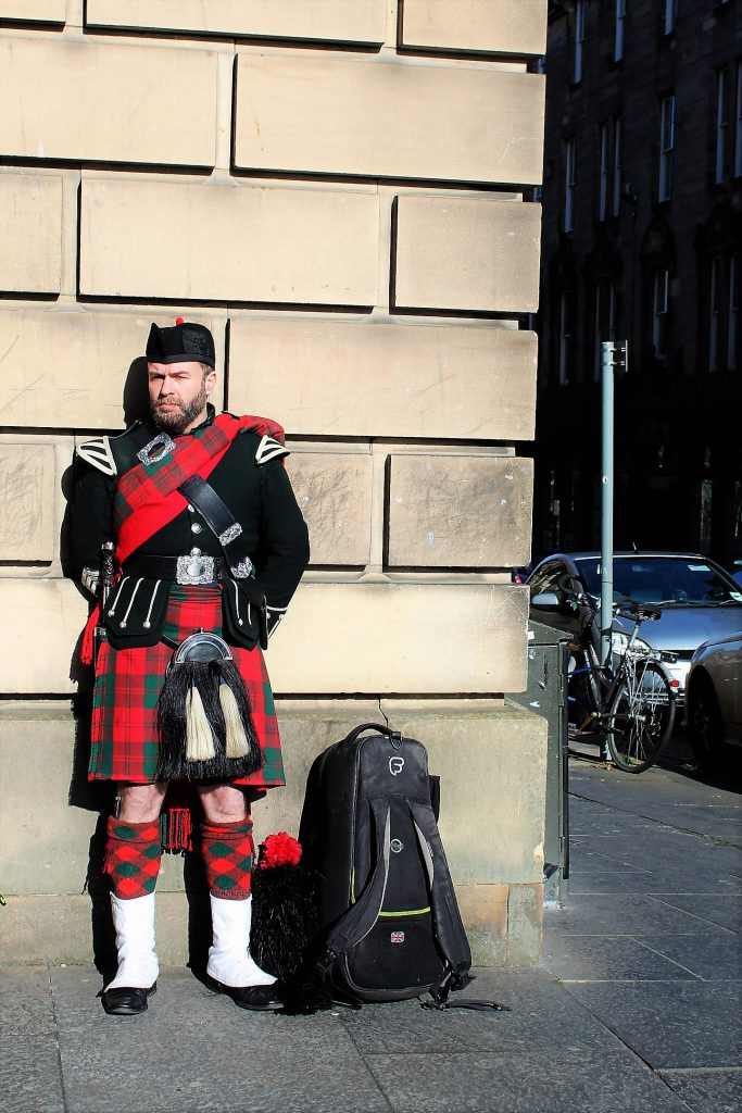 scottish man
