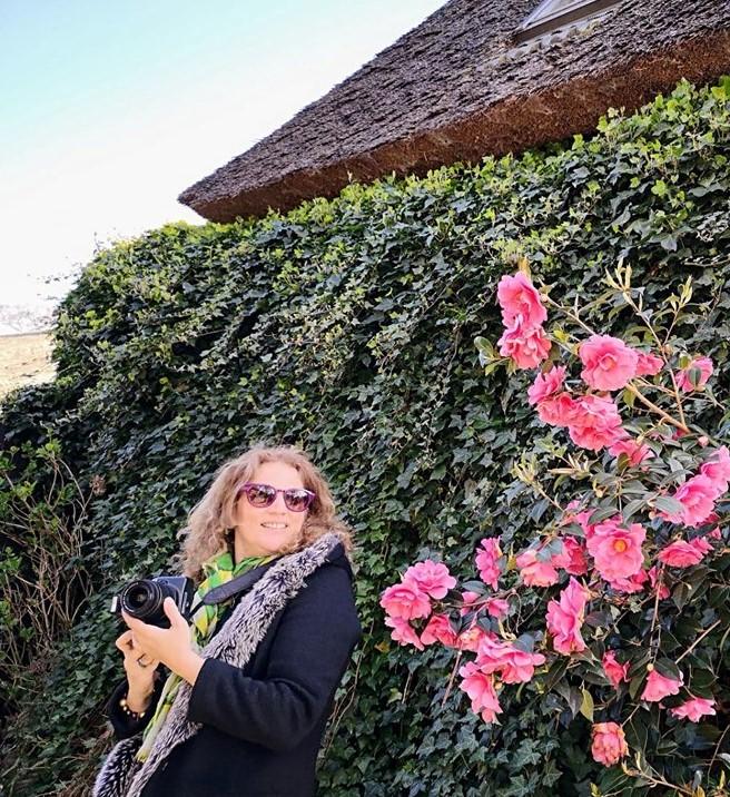 The author Dimitrina Pnadurovs