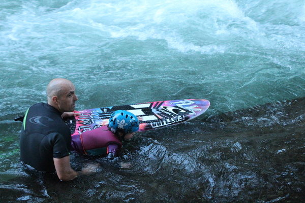 surf in the river for kids